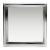 """12""""x12"""" Polished Stainless Steel Empty Front View"""