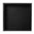 16'' - Black Matte - Front View - Empty