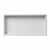 24'' - White Matte - Front View - Empty