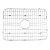 "Alfi brand Solid Stainless Steel Kitchen Sink Grid, 23-3/4"" W x 17-1/2"" D x 1"" H"