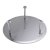 """24"""" Brushed Stainless Steel Product View - 1"""