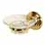 Embassy Series Glass Soap Dish with Wall Mounted Holder