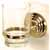 Embassy Series Glass Tumbler with Holder