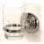 Glass Tumbler - Polished Nickel