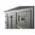Sapphire Gray / Italian Carrara Top - Close-Up - Drawers View 1
