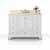 White / Galala Beige Top / Gold Hardware - Display View