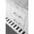 White / Italian Carrara Top - Close - Up-Drawers View 1