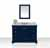 Heritage Blue /Italian Carrara Top / Gold Hardware - Display View
