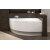 Left Corner Acrylic Bathtub