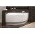 Right Corner Acrylic Bathtub