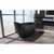 """Aquatica Emmanuelle 2 Freestanding Solid Surface Unique-Shaped Bathtub, Black, 66-1/4""""W x 35""""D x 32-3/4""""H"""