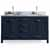 Oval Sink Vanity in Midnight Blue