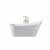 "ARIEL Platinum Paris 67"" Freestanding Bathtub, White"