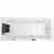"ARIEL Platinum 70"" Whirlpool Left Drain Rectangular Bathtub, White, 70""W x 31-1/2""D x 24-29/32""H"