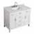 "Belmont Decor Hampton 43"" Single Rectangle Sink Vanity in White, 43""W x 22""D x 35""H"