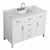 "Belmont Decor Hampton 49"" Single Rectangle Sink Vanity in White, 49""W x 22""D x 35""H"