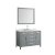 """49"""" Grey Rectangle Sink Product View"""