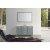 "Belmont Décor Hampton 55"" Single Rectangle Sink Vanity Set in Grey, Includes: Vanity Base, Countertop, Sink and Mirror"