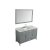 """55"""" Grey Rectangle Sink Product Angle View"""