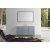"Belmont Décor Hampton 61"" Single Oval Sink Vanity Set in Grey, Includes: Vanity Base, Countertop, Sink and Mirror"