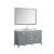 """61"""" Grey Rectangle Sink Product View"""