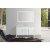 "Belmont Décor Hampton 61"" Single Rectangle Sink Vanity Set in White, Includes: Vanity Base, Countertop, Sink and Mirror"