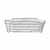 Blomus Delara Collection Wire Serving Basket, Long, Moonbeam, 4-7/8''W x 12- 1/4''D x 3-3/4''H