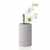 "Blomus Coluna Collection Vase, Light Gray, Small, 4-3/4""W x 4-3/4""D x 7-7/8""H"