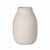Blomus Colora Collection Vase, Porcelain, Moonbeam, 6''Dia x 20''H