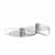 Blomus Castea Collection Candle holders Set of 2, Silver