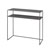 Console Table Steel Grey Display View