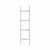 Blomus Fera Collection Tall Towel Ladder, Black, 17-11/16''W x 65''H