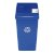 Blue Recycling Bin Base