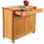 "Catskill Pull Out Recycling / Trash Kitchen Island, 38""W x 17 ""D x 34-1/2""H"