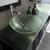 Cambridge Plumbing 63'' Espresso, Sink View, Brushed Nickel Faucets
