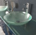 Chrome Faucet w/ Sink Angle View