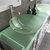 Cambridge Plumbing 63'' White, Sink View, Brushed Nickel Faucets