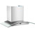 Cavaliere-Euro SV218D Stainless Steel Wall Mount Range Hood with Tempered Glass Canopy
