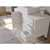 "Cambridge Plumbing 48"" Solid Wood Single Vanity Set in White, White Porcelain Countertop with Square White Porcelain Vessel Sink, Polished Chrome Faucet and Wood Trimmed Mirror Included"