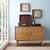 Crosley Furniture Landon Media Console, Acorn Finish