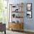Crosley Furniture Landon Large Etagere, Acorn Finish