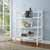 Crosley Furniture Landon Bookcase, White Finish
