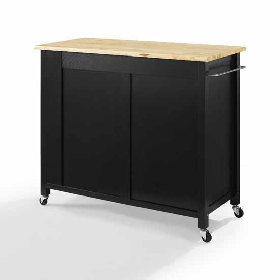 Wooden Top Black Base Product View 5