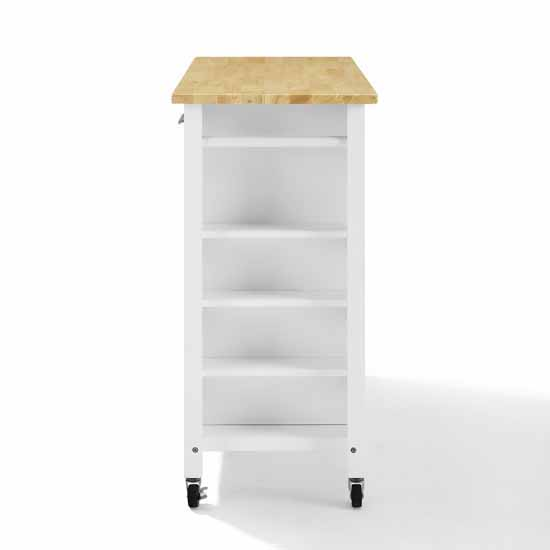 Wooden Top White Base Product View 6