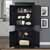 Parsons Pantry in Black