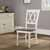 Crosley Furniture Shelby Dining Chair, White Finish