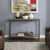 Crosley Furniture Brooke Console Table, Washed Oak Finish