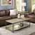 Crosley Furniture Brooke Coffee Table, Washed Oak Finish