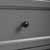 Crosley Furniture Tara Space Saver Cabinet, Vintage Gray Finish, 22''W x 11''D x 72''H