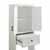 Crosley Furniture Tara Space Saver Cabinet, Vintage White Finish, 22''W x 11''D x 72''H